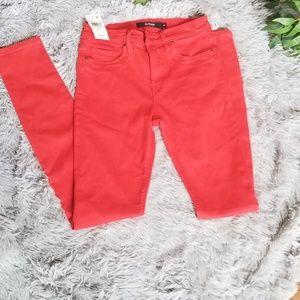 Hudson Jeans Red Size 25 Super Skinny